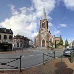 Eglise de la place de Croix