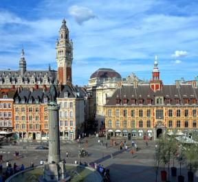 Grand place de la ville de Lille