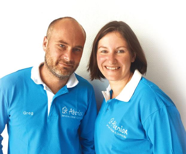 Emilie Croxo et Gregory Bouillon, fondateurs d'ADENIOR
