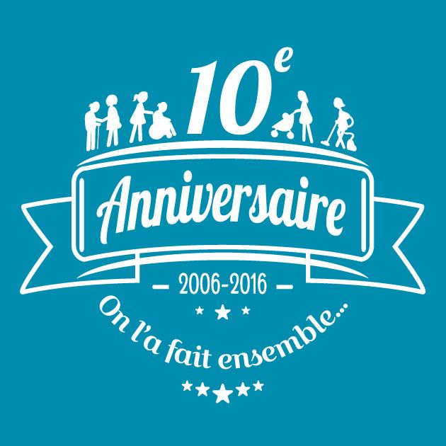 Logo 10 ans ADENIOR
