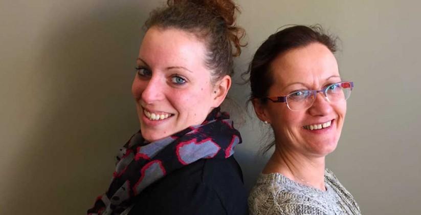 Severine et Julia - Agence ADENIOR Croix